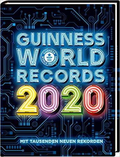 Guinness World Records 2020, 2019